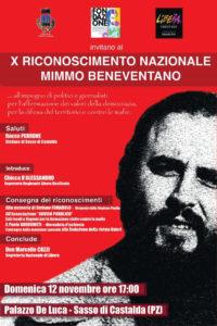 locandina Mimmo Beneventano